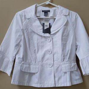 Ann Taylor crop jacket